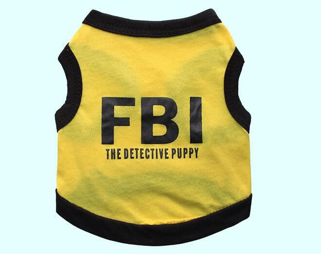 1pcs dogs cats fashion summer vest clothes doggy cool t shirt clothing puppy vests costume pet dog cat suit XS S M L