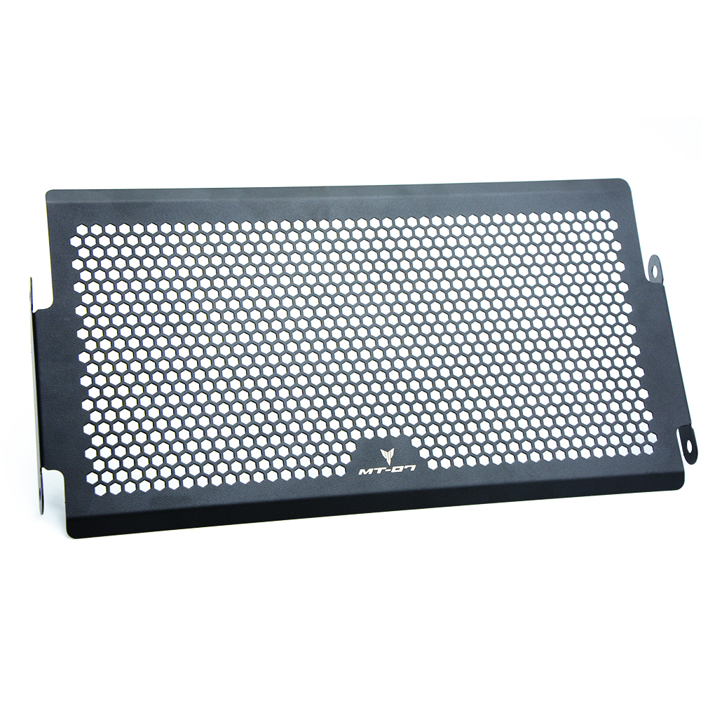 chrome radiator grills MT 07 2014-2016 Aluminum Radiator Grille Cover Radiator Protective Grills Guard For Yamaha MT07 MT-07 MT 07 2014-2016 14 15 16