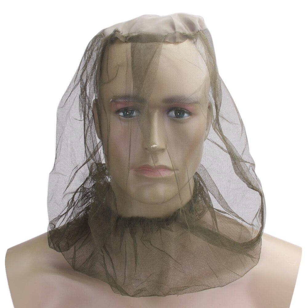 Midge Moskito-insekt-net Bug Mesh Head Hat Net Gesicht Protector Reisen Camping Pudelmützen Und Beanies