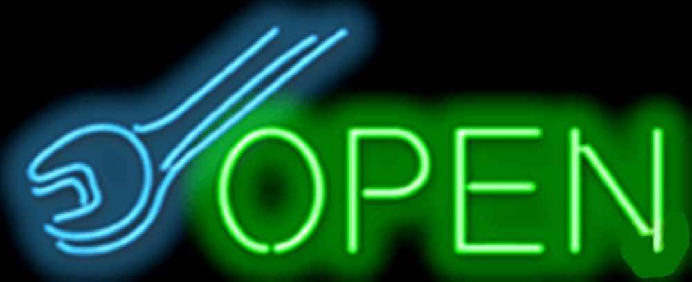 Repair Car Auto Neon Sign
