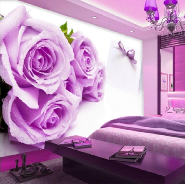 Custom photo wallpaper TV background wallpaper 3D stereo living room ...