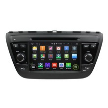 Quad Core Android 5.1.1 Car Dvd Multimedia For SX4 2014 S Cross 2014 With 16GB Flash Mirror Link GPS Map Free Shipping