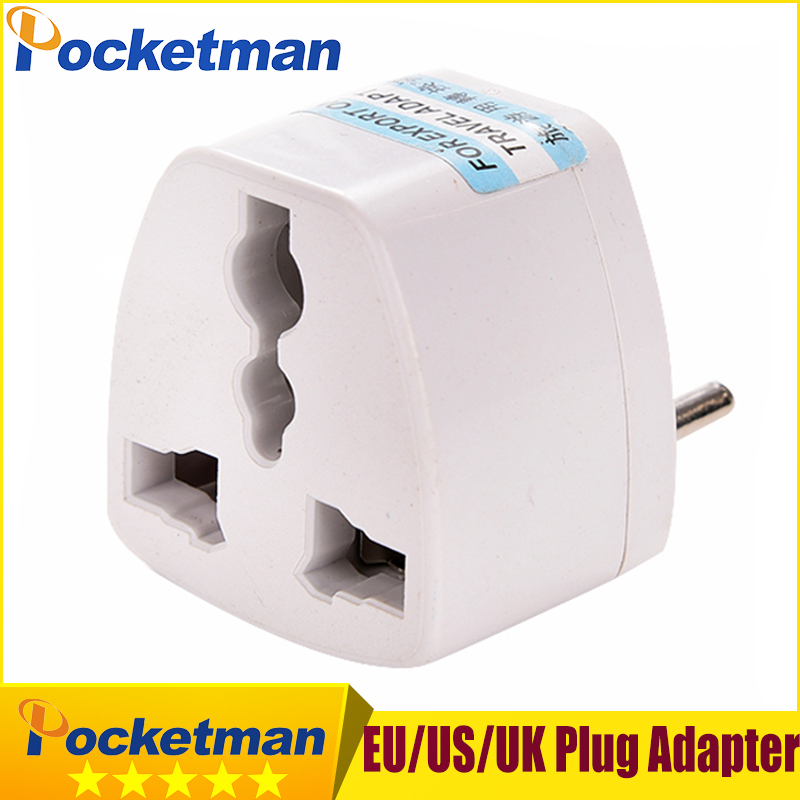 International EU USA UK Plug Adapter European Power Charger Socket Universal Travel Socket Converter Conversion Plug Adapters