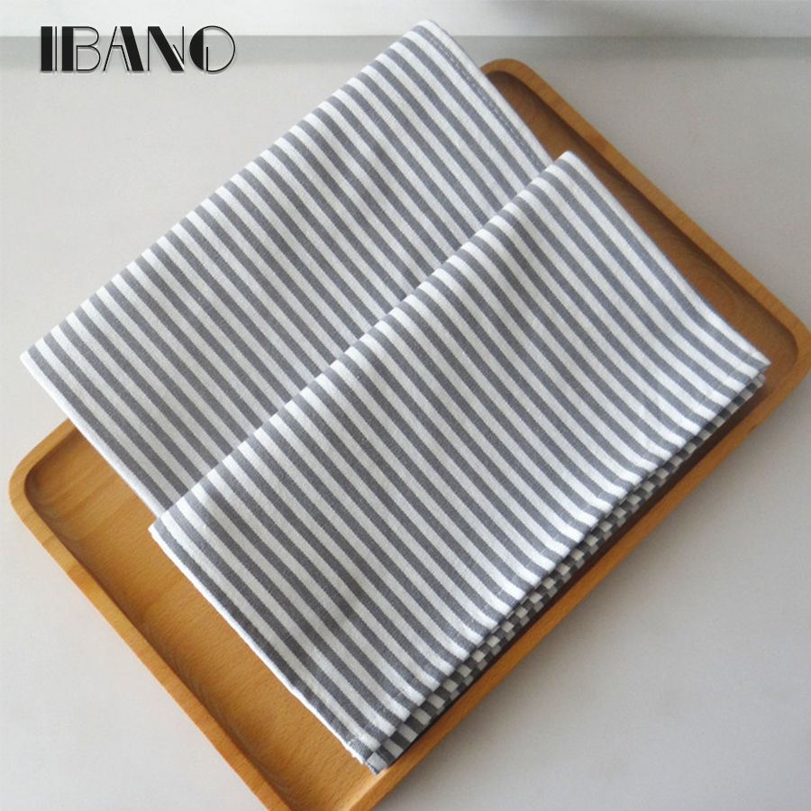Classic Kitchen Towel 2pcs/lot Cotton Table Napkin Dish Towel Cleaning Cloth 40x60cm Tea Towel Printed durable pano de prato