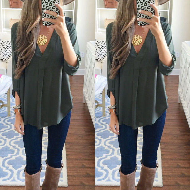 Maternity V-neck Chiffon Clothes For Pregnant Women Summer Fashion Casual Blouse Shirts Loose Nursing Tops Pregnancy Clothing
