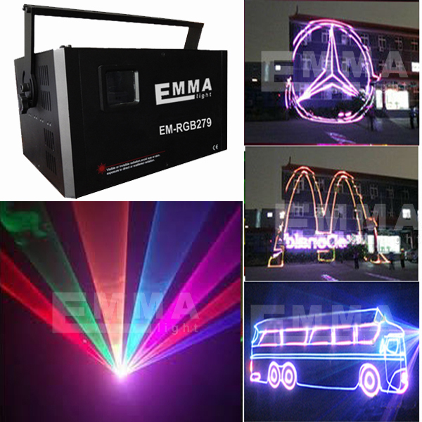 Rgb Design Solutions International Lighting Outdoor Advertising Text Laser Projector Programmable Lights Show