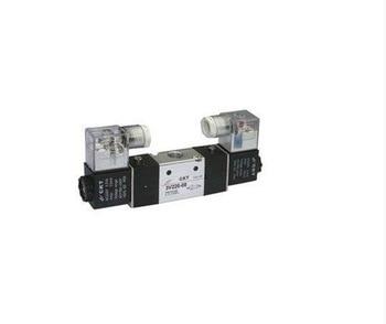 "3V220-08 AC220V 3Port 2Position 1/4"" BSP Double Solenoid Pneumatic Air Valve"