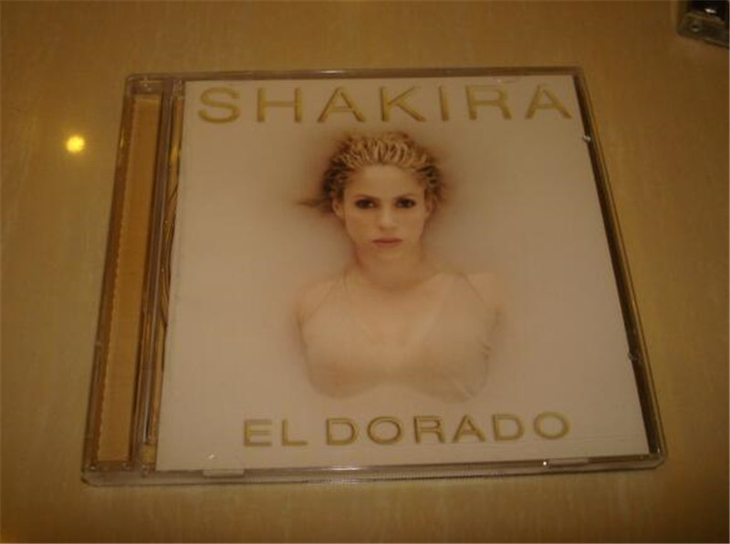 Free Shipping: Shakira El Dorado Pop Music CD Seal