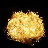 20 m 200 LEDs 110 V 220 V led luz de la secuencia de colores holiday iluminación led Navidad/boda/fiesta luces de la decoración