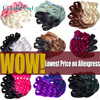 Box Braids Crochet Braids 24Inch Ombre Kanekalon Braiding Hair Gray/Blue/Pink Crochet Braid Hair 100G/Pc Crochet Hair Extensions