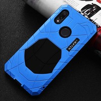 IMATCH Daily Life Case Luxury Metal Silicone Cover Mobile Phone Protection Case Coque For Xiaomi Redmi Note7 Note 7Pro KS0172