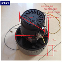 Free Post New 1200W Industrial Vacuum Cleaner Motor Normal Quality 1 95kgs
