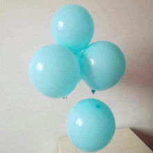 Hot Water blue balloon 50pcs/lot10 inch thick latex balloons birthday party decorations adult baloons wedding supplies kids toys