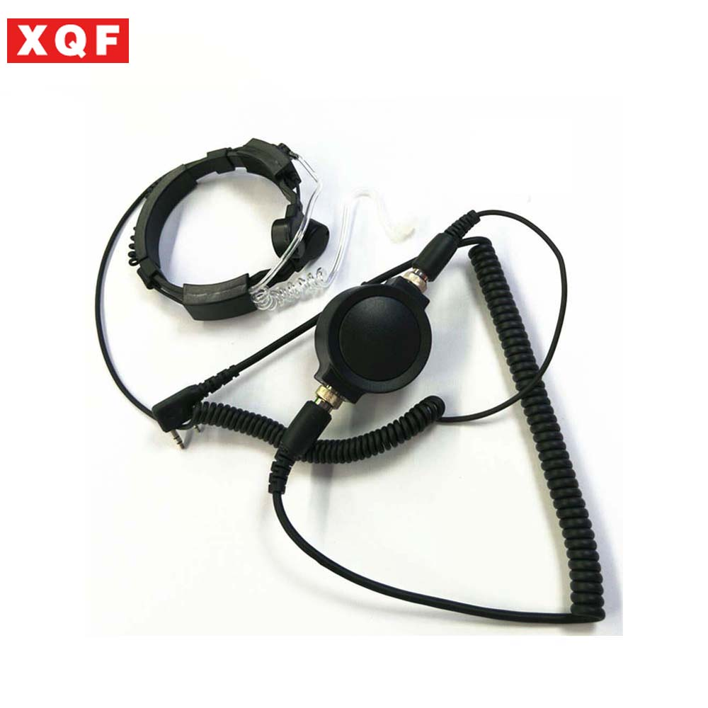 XQF Hot Covert Earpiece Grade Tactical Throat Mic Armpit PTT Headset with Finger PTT for KENWOOD Radio baofeng BF UV-5RXQF Hot Covert Earpiece Grade Tactical Throat Mic Armpit PTT Headset with Finger PTT for KENWOOD Radio baofeng BF UV-5R