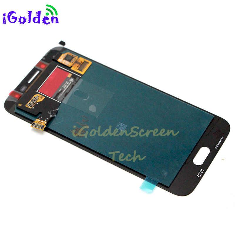 100% اختبار لسامسونج غالاكسي J250 LCD J2 2018 LCD مجموعة المحولات الرقمية لشاشة تعمل بلمس لسامسونج SM-J250