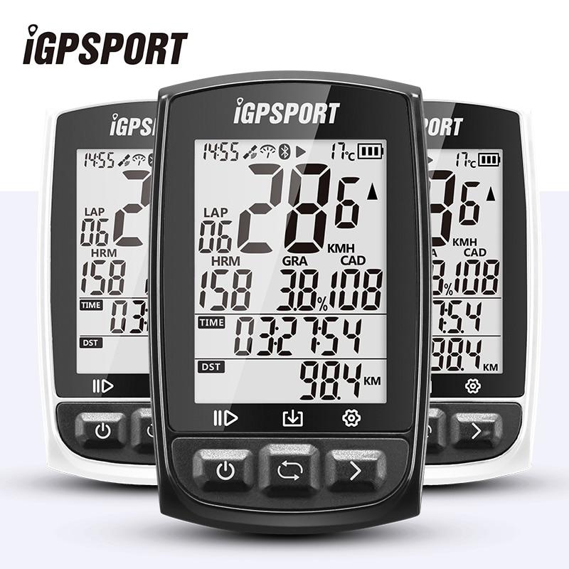 Я gps порт IGS50E gps Велоспорт компьютер Беспроводной IPX7 Водонепроницаемый велосипед цифровой Секундомер Велосипедный Спидометр ANT + Bluetooth 4,0