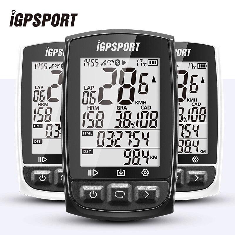 IGPSPORT IGS50E GPS ordinateur de cyclisme sans fil IPX7 étanche vélo chronomètre numérique vélo compteur de vitesse ANT + Bluetooth 4.0