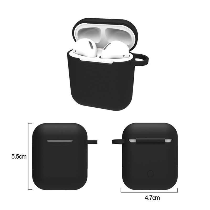 1 шт. ТПУ Силиконовые Bluetooth беспроводные наушники чехол для Airpods защитный чехол Ультратонкий протектор кожухи головных телефонов