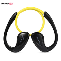 Awei A880BL Wireless Bluetooth V4 0 Headphones Sports Stereo Earphones APT X HiFi Sound Quality Ear