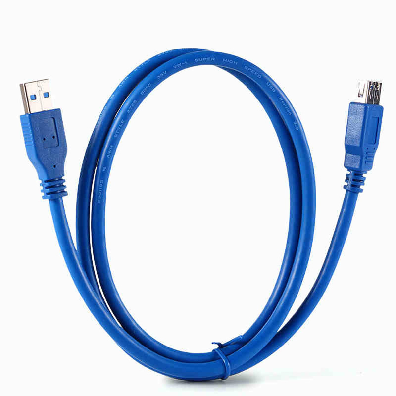 Синий 1.8 м 6ft USB3.0 Тип-мужчина к-женский супер Скорость USB 3.0 удлинитель может похвастаться классе скорости передачи