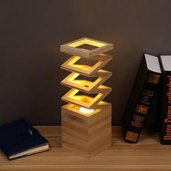 Oszczędny wiosna drewna doprowadziły lampa stołowa Cafe salon Tafellamp sypialnia lampka nocna domu w stylu Art Deco nowoczesny minimalizm lampa stołowa w Lampy stołowe LED od Lampy i oświetlenie na