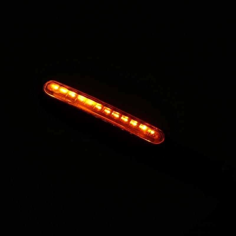 4pcs/lot Motorcycle Turn Signal Lights Flowing Universal Motorcycle 12LED Turn Signal Indicator Light Amber Moto Lamp
