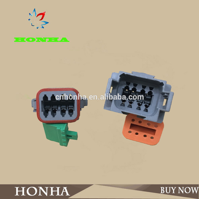 cc0a8f594d79e5 8 Pin DJ3081Y-1.6-11 21 Deutsch Connectors DT04-8P DT06-8S Automobile  waterproof wire electrical connector plug