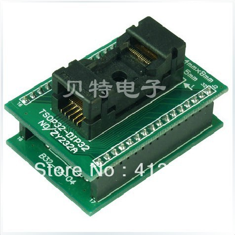Ucos TSOP32 DIP32 forward ZY232A test socket programming adapters ucos private soic28 programming block transfer zy320a burning test socket adapter