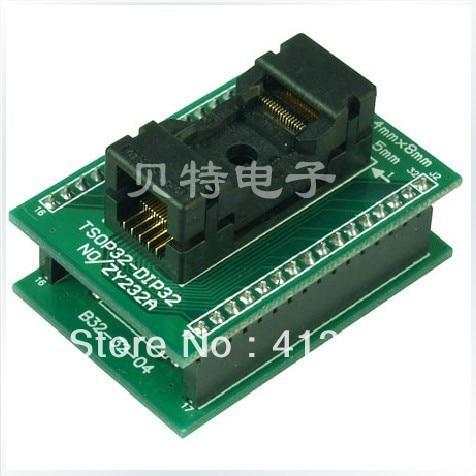 Ucos TSOP32 DIP32 forward ZY232A test socket programming adapters stc15f104e 35i dip 15f104 dip8