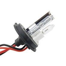 Одна пара ксеноновых H4 HID лампы H4 с галогеновой лампой для автомобильных фар 4300 k 5000 k 6000 k 8000 k hid ксеноновые лампы H4-2