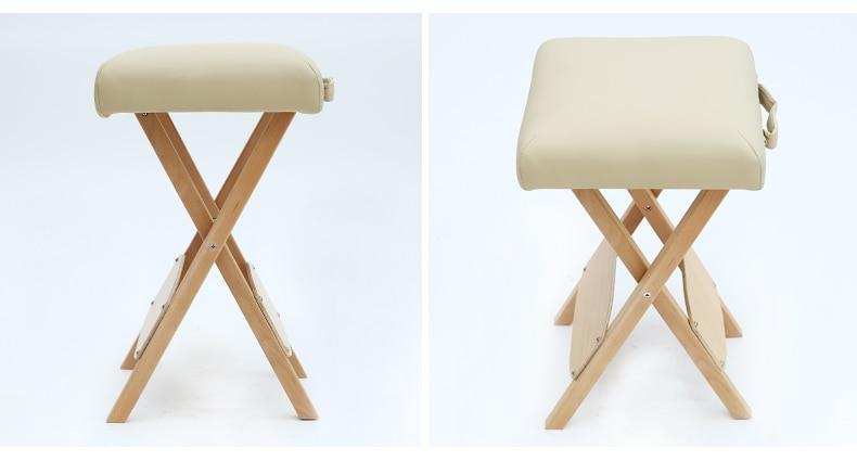 Sgabello In Legno Pieghevole : Pieghevole salon sgabello sedia per il massaggio spa del tatuaggio