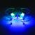 JC3015-2 2.4 GHz 4CH 6 Eixos Giroscópio Mini RC Quadcopter Zangão Helicóptero com Controle Remoto Transparente