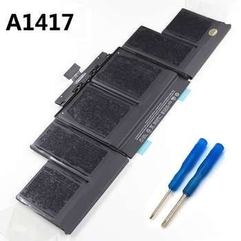 "11.26V 95wh Original Laptop Battery A1417 for Apple Macbook Pro  Retina 15"" A1398(2012/2013 Version) Batteries MC976CH/A MC975"