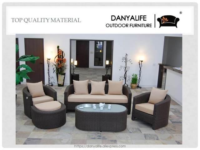 Schon DYSF D5505 Danyalife Villa Garden Poly Rattan Deck Sofas