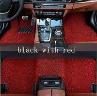 Kalaisike пользовательские автомобильные коврики подходят для большинства автомобили аксессуары для интерьера авто стиль