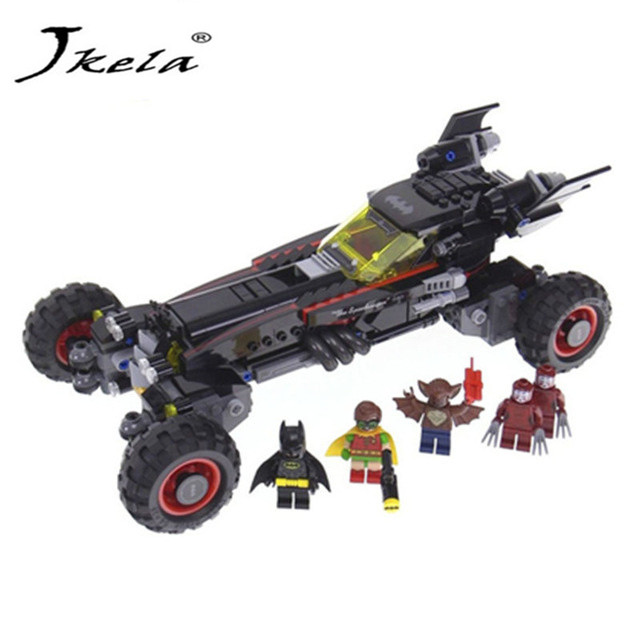 [Jkela] 2017 Super Heroes Batman batman movie building Blocks Gift Toys for children Compatible with Legoingly Batman lepin 07056 775pcs super heroes movie blocks the scuttler toys for children building blocks compatible legoe batman 70908