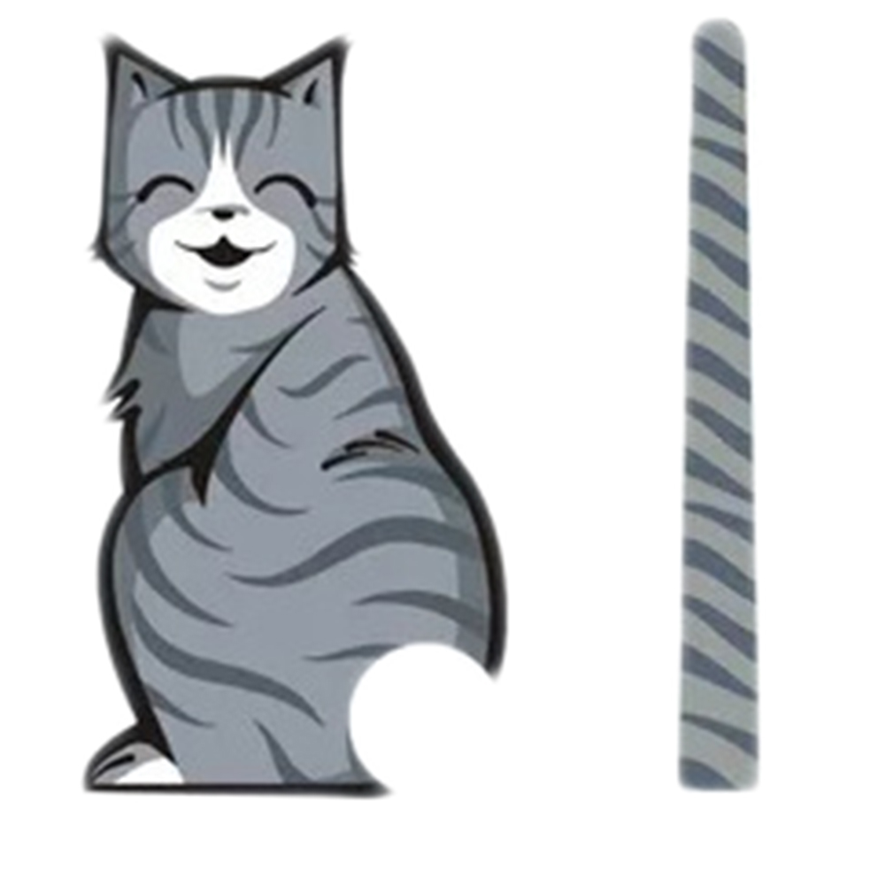 Decorate Stickers Reflective 3D Pretty Excellent Item Car Styling Hot Sale Cat Stickers