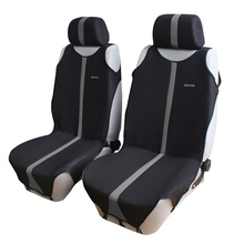 T shirt Design 2pcs Front Car Seat Covers Universal Fit Auto Seat Protector 3 Colors for Choice Interior Accessories