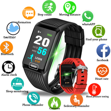 Купить с кэшбэком New Sport Bracelet Men Women Waterproof Fitnes Wristband Blood Pressure Heart Rate Monitor Pedometer Smart Watch For Andrdid ios