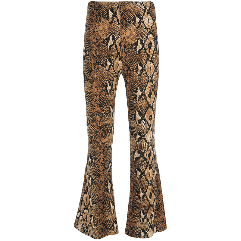Leopard   Wide     Leg     Pants   Sexy Hip   pants   Fashion Spring Trousers Club   Pants   Hot High Waist Loose Female Trousers Plus Size