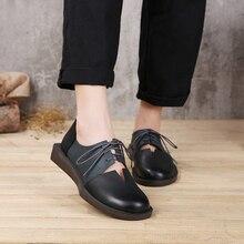 genuíno feminino sapatos misturada
