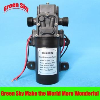 5L/Min DC12V 60W 0.5MPa high pressure micro electric diaphragm pump sprayer pump 5l min dc12v 60w high pressure mini water diaphragm pump
