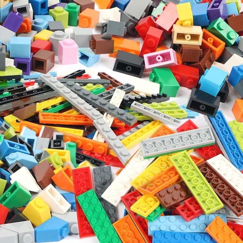100g/Pack Multicolour DIY Model Building Blocks Toy Parts Bulk For Building Bricks Children Toys Gift Compatible Legoings