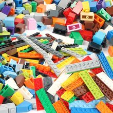 100g/Pack Multicolour DIY Model Building Blocks Toy Parts Bulk For Building Bricks compatible with Lego Children Toys Gift