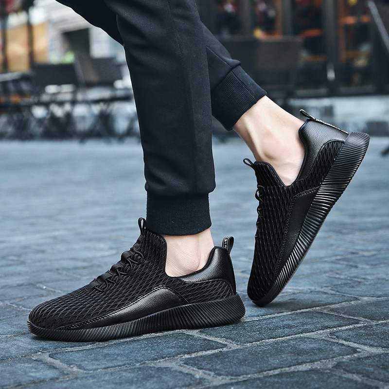 2019 Hot sale Fashion Casual Shoes For Men High quality Breathable Lightweight Male shoes Non slip footwear in Men 39 s Casual Shoes from Shoes