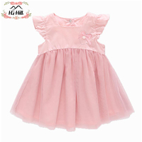 HG hill SS18 0036 baby dress girls infant toddler clothing children birthday party clothes kids summer Lolita dress