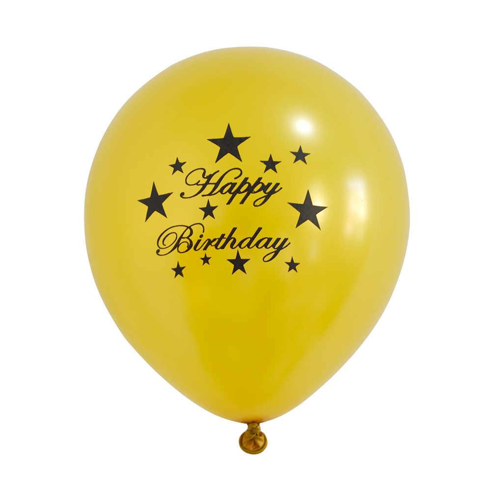 10 pc Felizes Balões De Aniversário Noiva Da EQUIPE It'S Menina Flamingo Impressão de Balão Balões de Ar Decorações da Festa de Aniversário Da Sereia Crianças