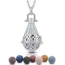 Eudora ожерелье с диффузором для ароматерапии в форме капли