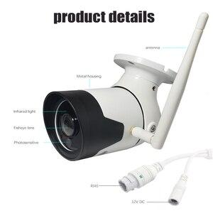 Image 5 - Jvtsmart na zewnątrz bezprzewodowy Wifi panoramiczny KAMERA TELEWIZJI PRZEMYSŁOWEJ 1080 P 360 stopień szeroki kąt Bullet wodoodporna metalowa aparatu bezpieczeństwa v380