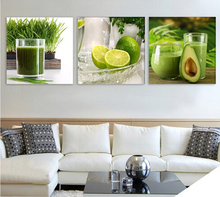 Fruits Canvas Painting Large Wall Pictures For Living Room Kitchen Print On 3 Panel No Frame